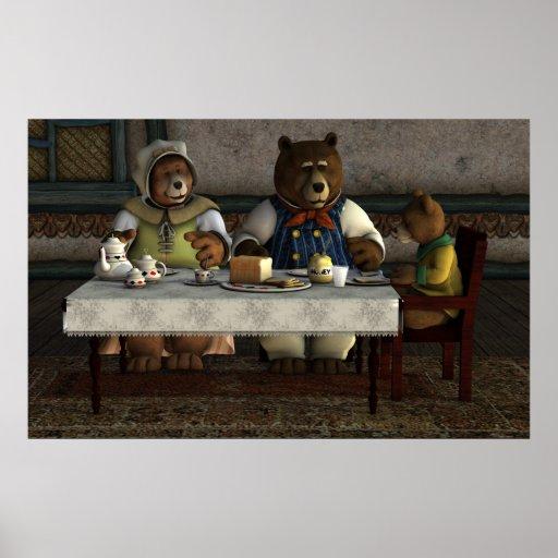 Three Bears Print