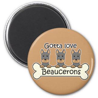 Three Beaucerons Magnet