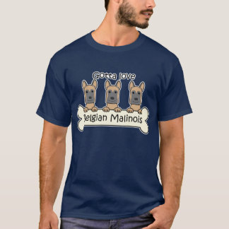 Three Belgian Malinois T-Shirt