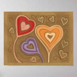 Three Big Hearts Poster