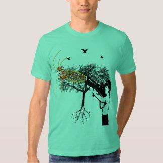 Three Birds One Tree One Boy & Da Canon Art Shirt