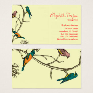 Three Birds Talking ~ Business Cards