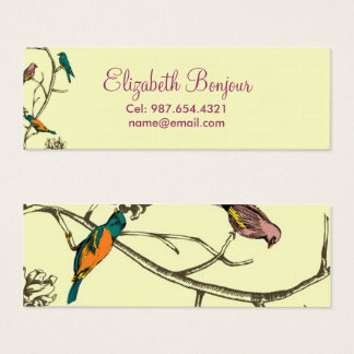 Three Birds Talking ~ Calling Cards