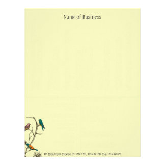 Three Birds Talking ~ Letterhead Business Work