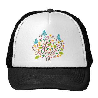 three birds trucker hat