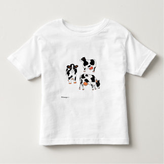Three Black and White Cows Shirt