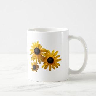 Three Black-Eyed Susans Coffee Mug