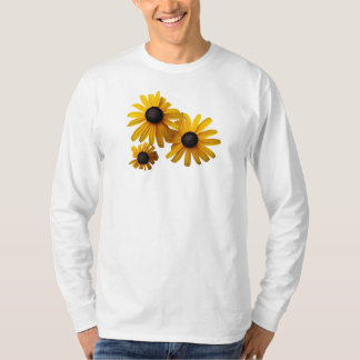 Three Black-Eyed Susans Mens T-Shirt