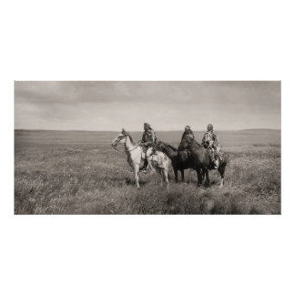 Three Blackfoot Chiefs Poster