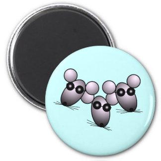 Three Blind Mice Magnet
