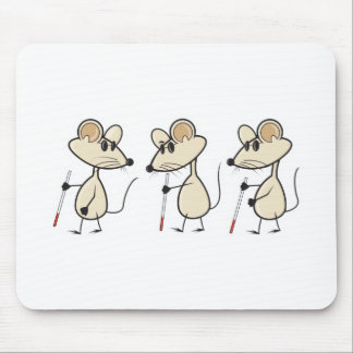 three blind mice mouse pad