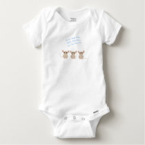 Three Blind Mice Nursery Rhyme Baby Onesie
