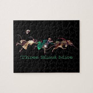 Three Blind Mice Jigsaw Puzzles