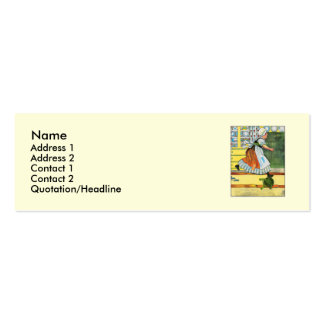 Three blind mice! See how they run! Mini Business Card