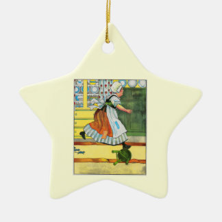 Three blind mice! See how they run! Ornament