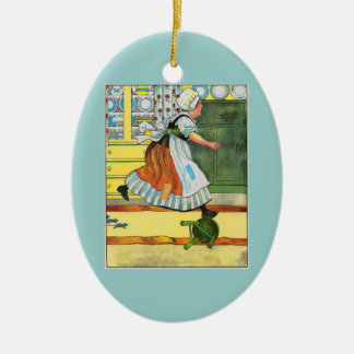 Three blind mice! See how they run! Ornaments