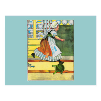 Three blind mice! See how they run! Post Cards