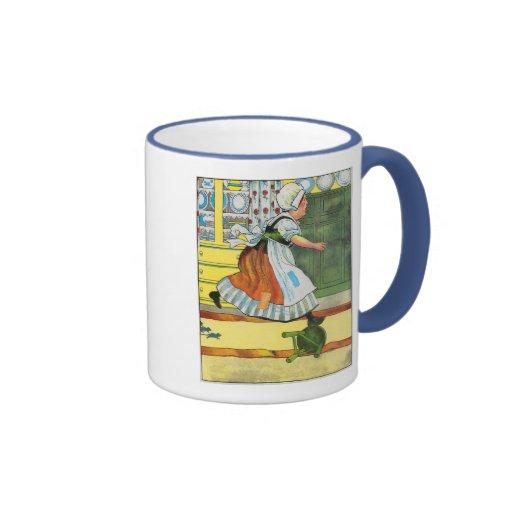 Three blind mice! See how they run! Ringer Coffee Mug