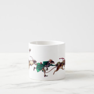Three Blind Mice 6 Oz Ceramic Espresso Cup