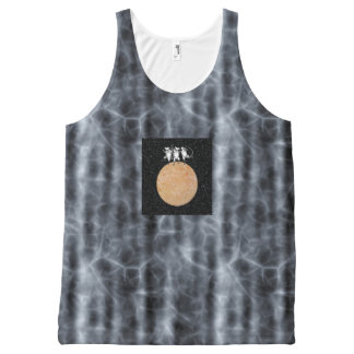 THREE BLIND MICE & THE MOON MADE OF CHEESE! v.3 ~ All-Over Print Tank Top