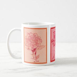 Three Blossoms by S Ambrose Coffee Mug