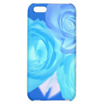 Three blue roses inverted picture iPhone 5C cover