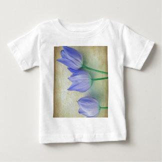 Three Blue Tulips Baby T-Shirt