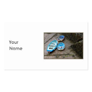 Three Boats Business Card