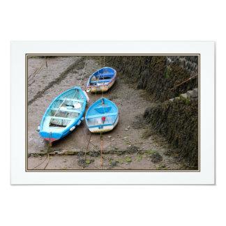 Three Boats. Card