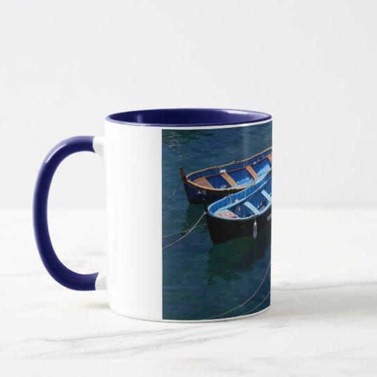 Three Boats Mug