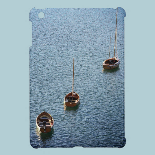Three Boats on the Water Cover For The iPad Mini