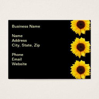 Three Bold Sunflowers Business Card