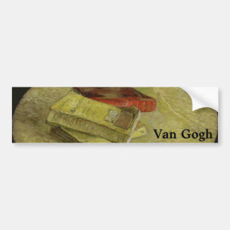Three Books by Vincent Van Gogh Bumper Sticker
