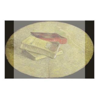 Three Books by Vincent Van Gogh Flyer