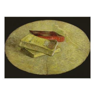 Three Books by Vincent Van Gogh Invitation