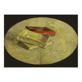 Three Books by Vincent Van Gogh 5x7 Paper Invitation Card