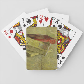 Three Books by Vincent Van Gogh Poker Deck