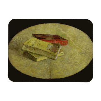 Three Books by Vincent Van Gogh Magnet