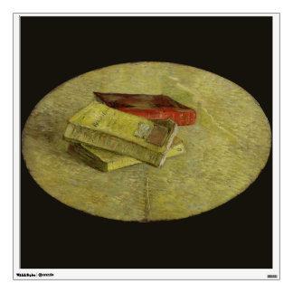 Three Books by Vincent Van Gogh Wall Sticker