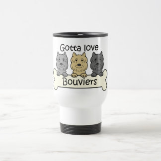 Three Bouviers Travel Mug