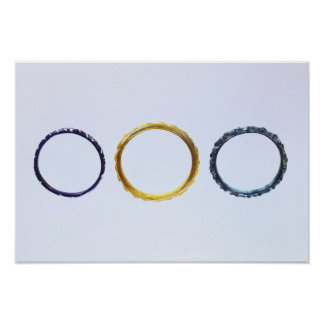 Three bracelets, from Mathay-Mandeure Poster