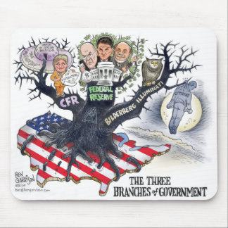 Three Branches of Gov Mousepad