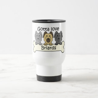 Three Briards Travel Mug