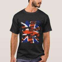 THREE BRITISH LIONS T-Shirt
