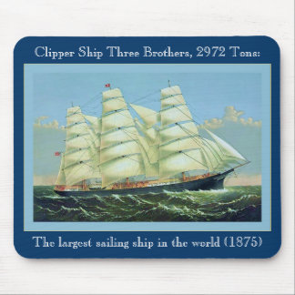 Three Brothers Mouse Mat