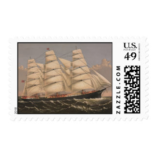Three Brothers Ship Stamps