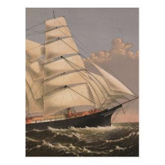 Three Brothers Ship Postcard