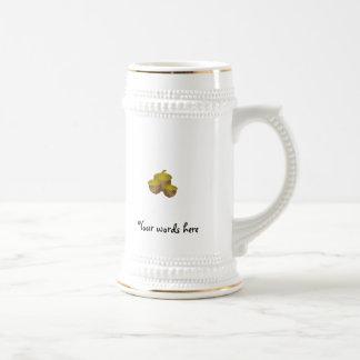 Three brown acorns mugs
