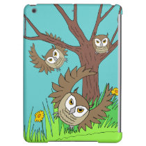 three brown owls iPad Air Savvy case iPad Air Cover