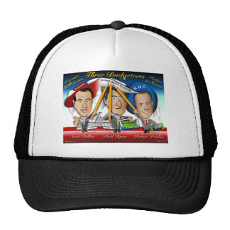 Three Budgeteers from Wisconsin Mesh Hats
